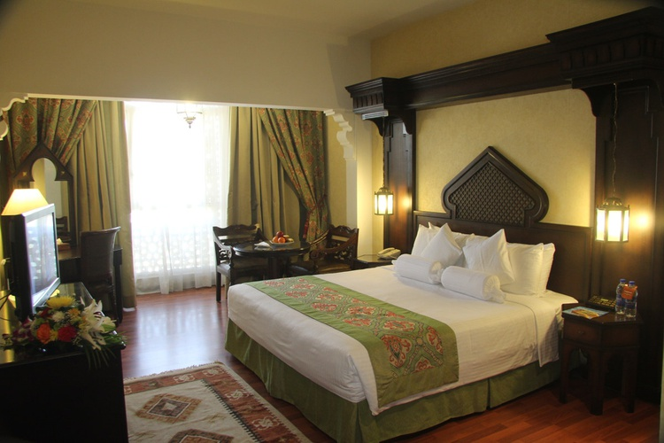 Zimmer arabian courtyard hotel & spa bur dubai