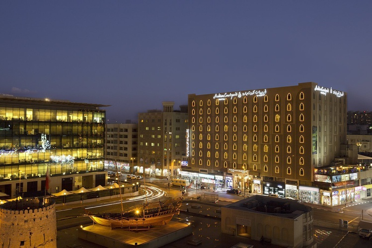 Außen Arabian Courtyard Hotel & Spa Bur Dubai