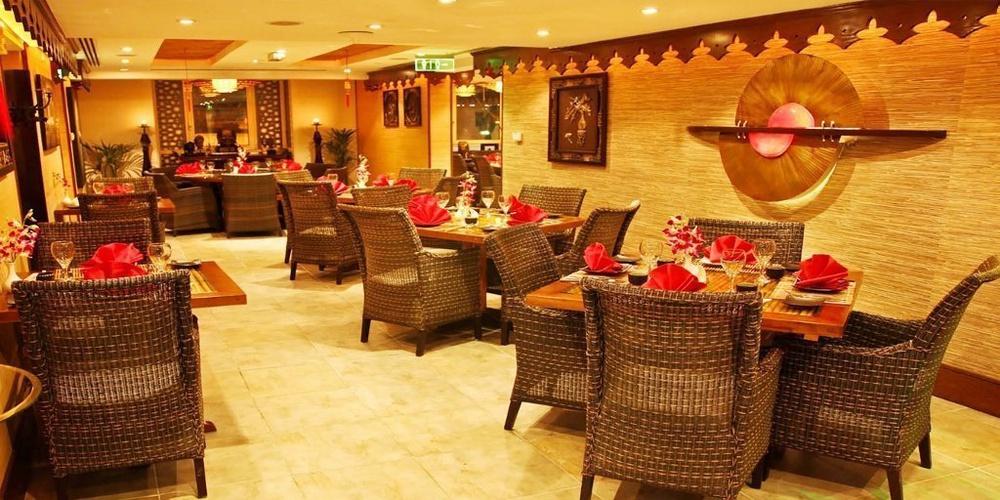 Chinesischen und thailändischen Silk Route Arabian Courtyard Hotel & Spa Bur Dubai