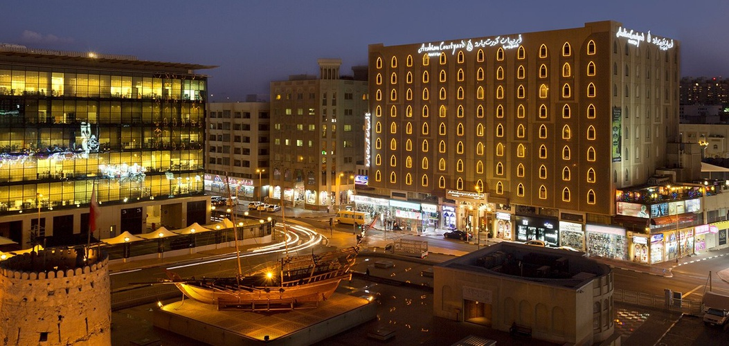 Fassade Arabian Courtyard Hotel & Spa Bur Dubai